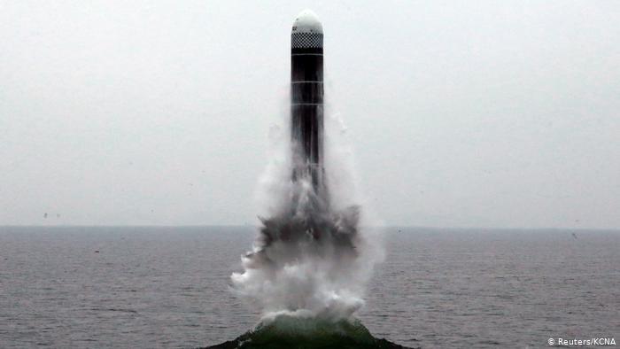 Nordkorea testet atomaren Riesenphallus