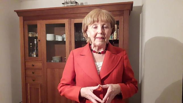Angela Merkel Doppelgängerin