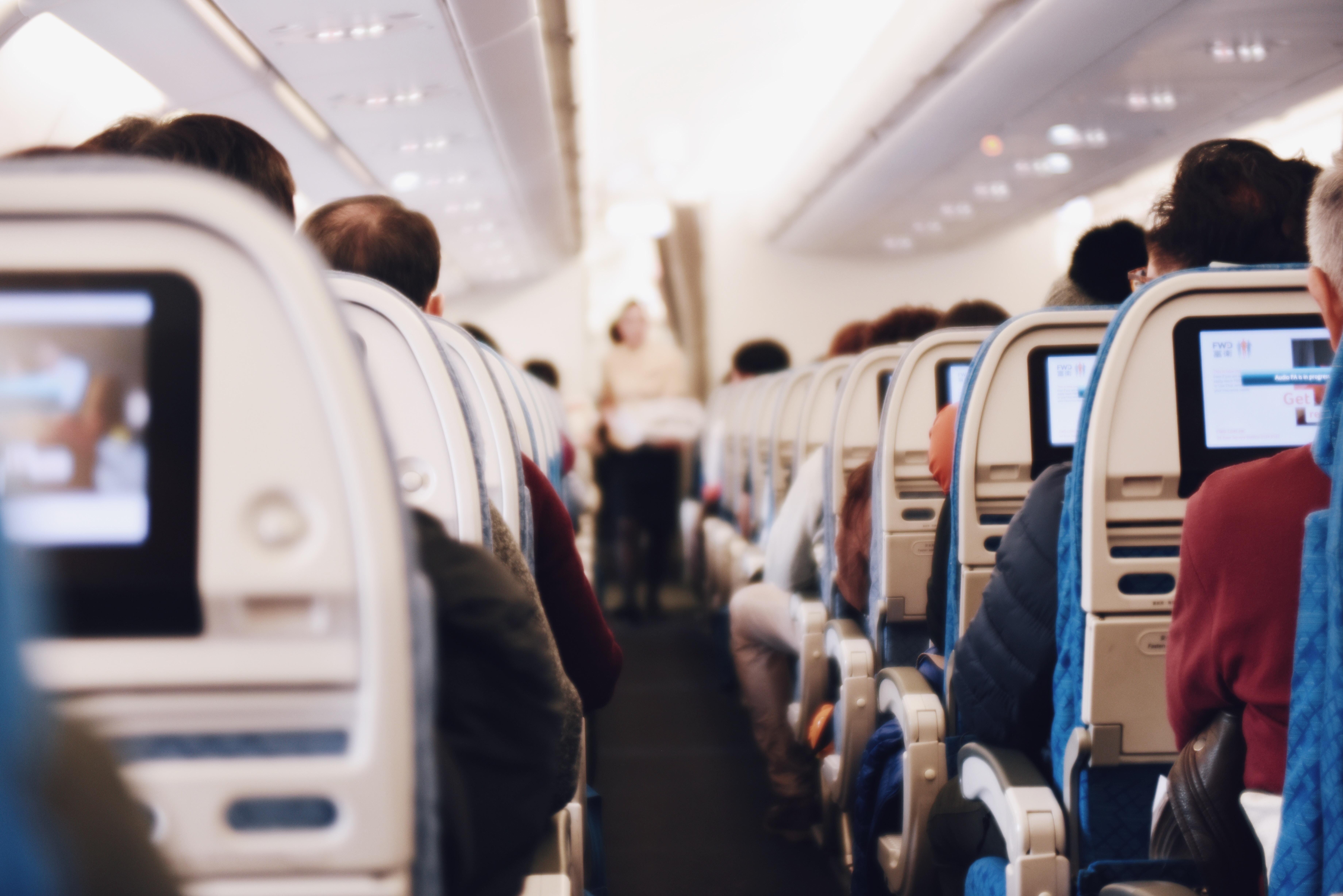 Die Reise in einem völlig verrückten Flugzeug