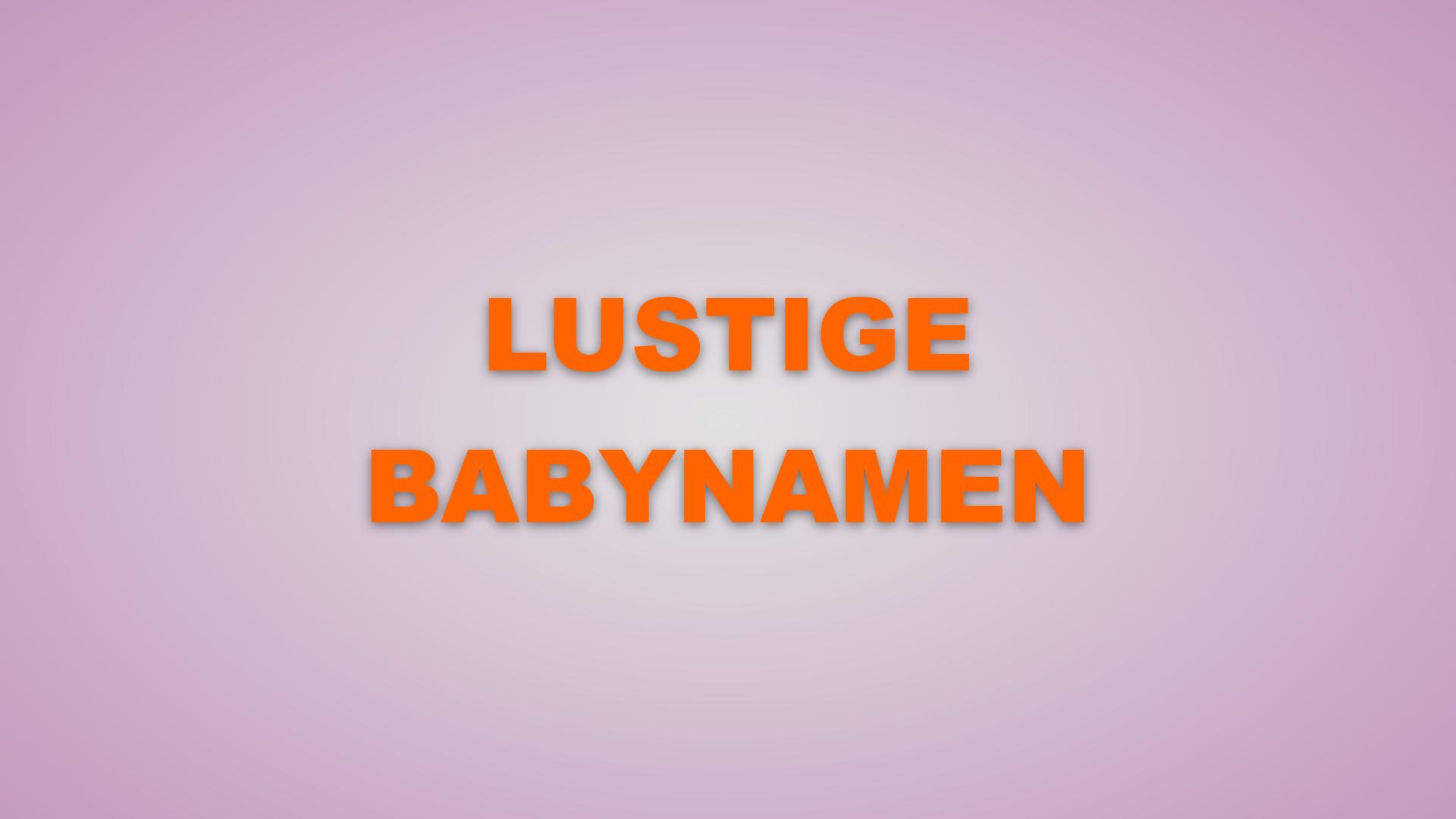 Lustige Babynamen 2020: Die Top 10 der schrägsten Babynamen des Jahres