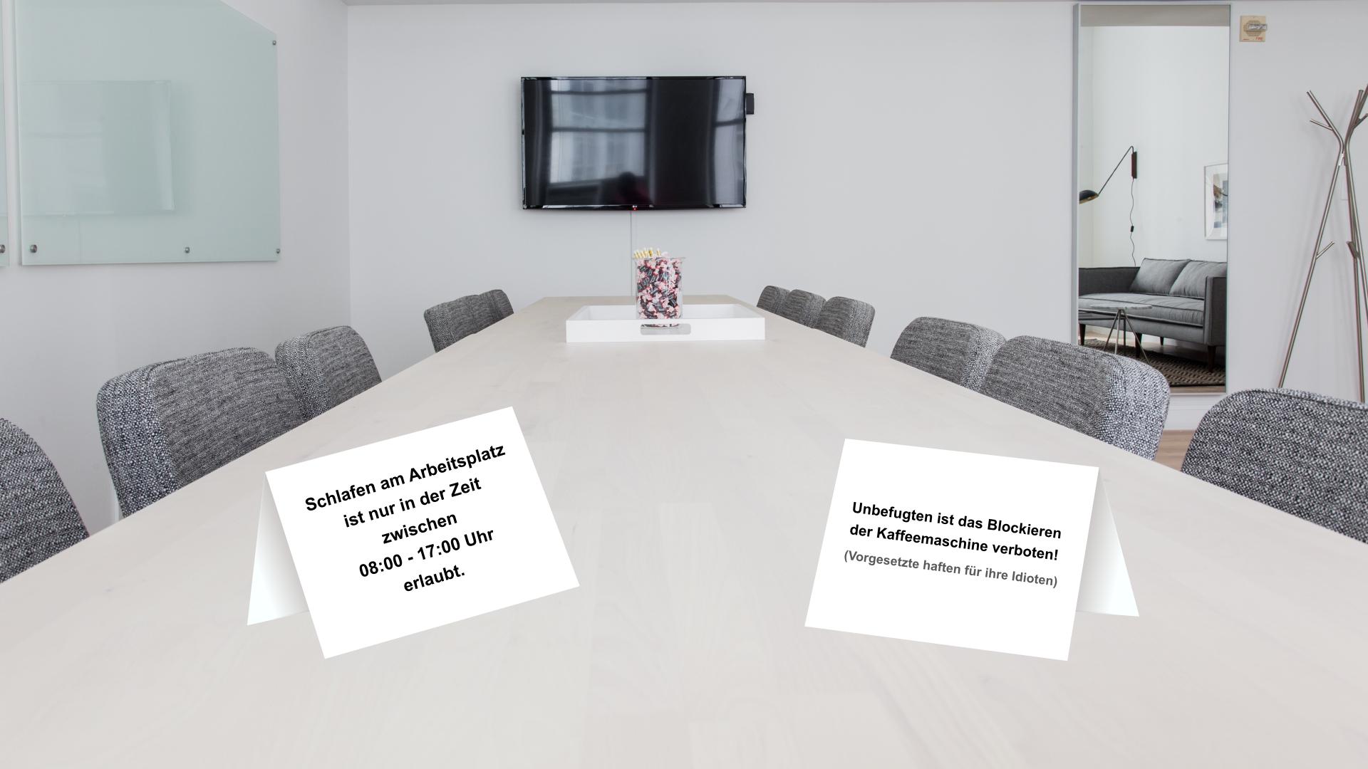 Lustige Bürosprüche zum Ausdrucken