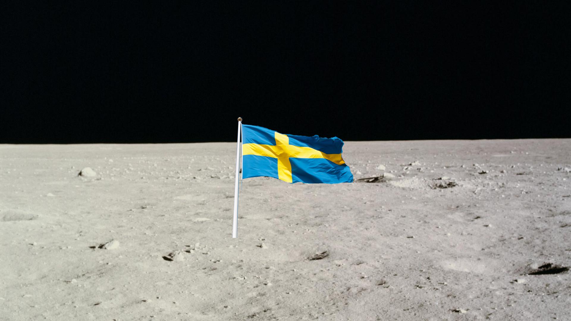 Erster Mensch auf dem Mond soll Schwede gewesen sein
