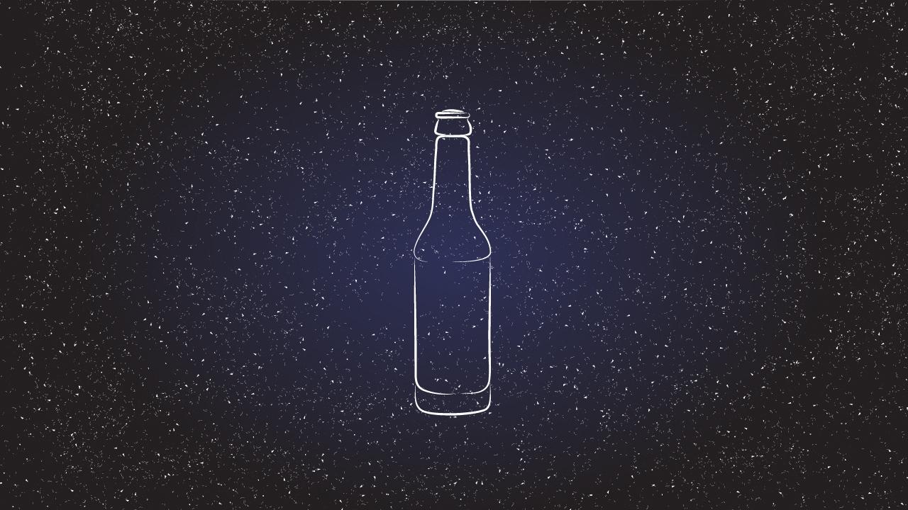 Sternzeichen: Bierflasche
