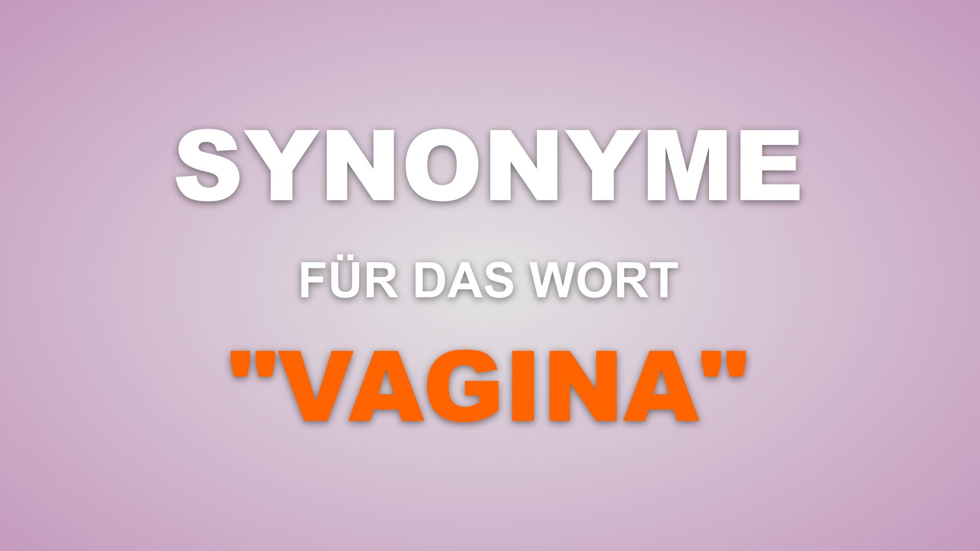 507 Synonyme für das Wort Vagina